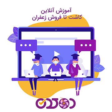 آموزش آنلاین کاشت زعفران