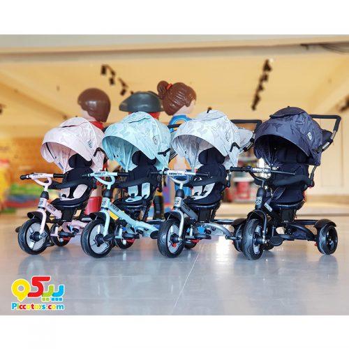 سه چرخه تاشو کودک
