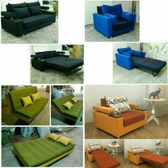 مبل راحتی تولید کننده انواع مبلمان تخت خواب شو
