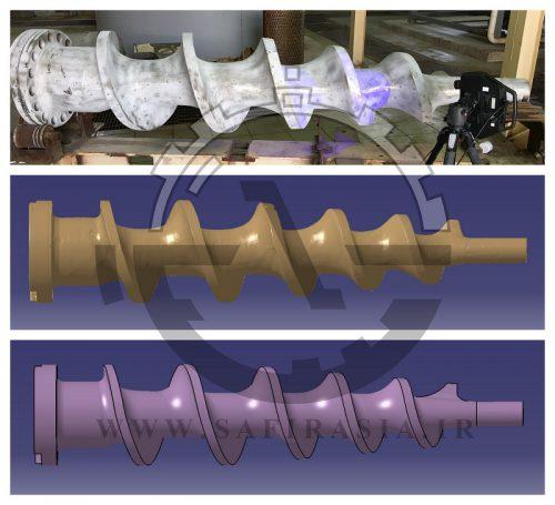 خدمات طراحی CAM/CAM و اسکن سه بعدی قطعات