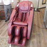 تعمیر صندلی ماساژ(ماساژور) تعویض روکش چرم