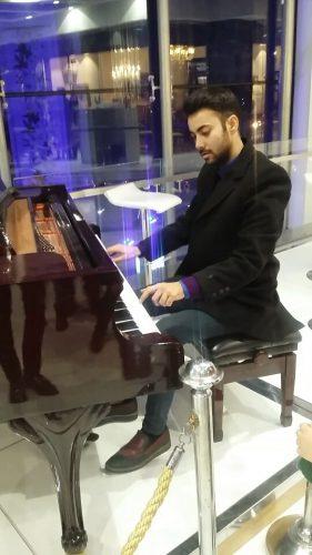 آموزش تخصصی پیانو زیر نظر استاد ایمان منیری