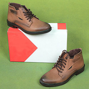 کفش نیم پوتین مردانه مدل SM0104