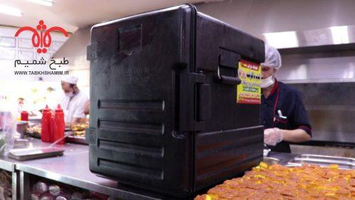روش استاندارد حمل غذا