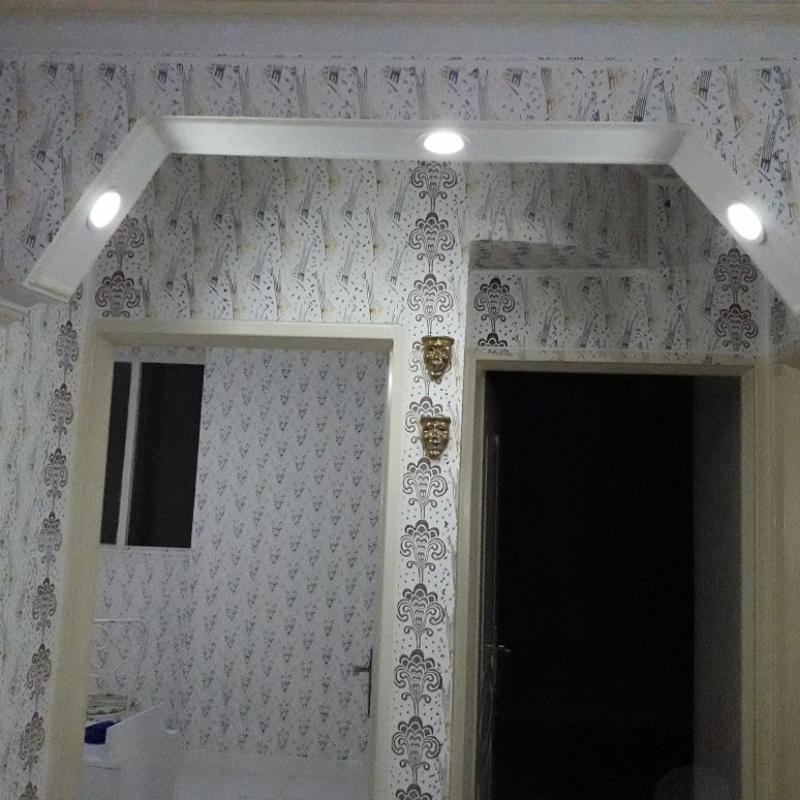 نقاشی ساختمان طرح کاغذ دیواری با مواد نانو